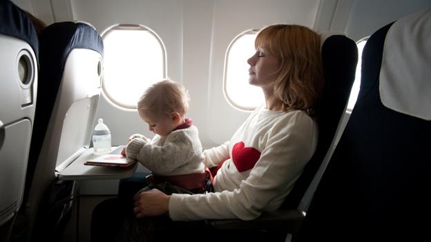 Qué documentación necesito para viajar con niños en el avión