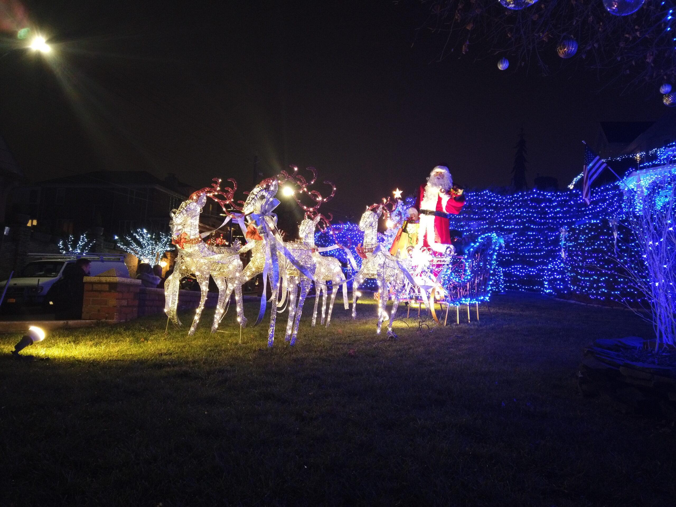 Dyker Heights, el barrio con más luces navideñas del mundo