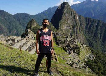 Jesse Takayama en Machu Picchu